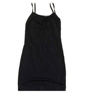 LAmade black mini dress